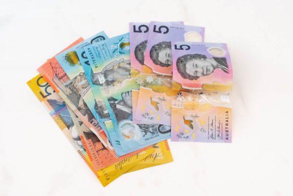 オーストラリアのドル紙幣