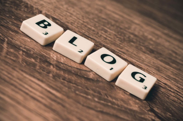 ブログの文字ブロック