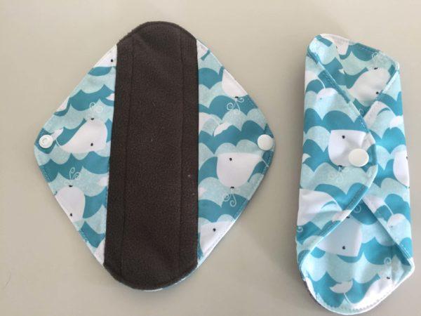 布ナプキンの表と裏の写真