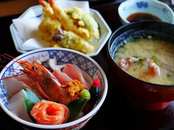 天ぷら定食メニュー