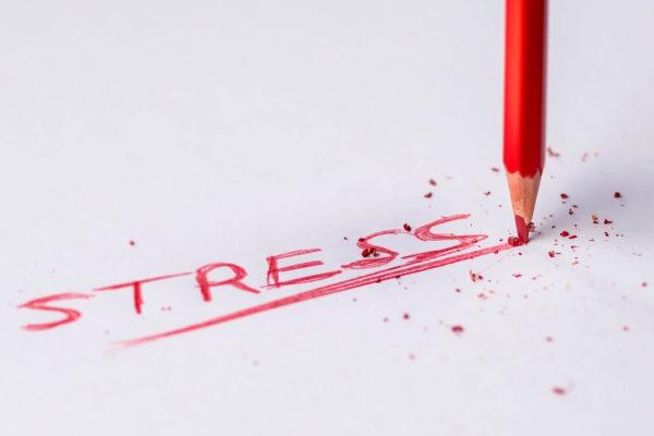 STRESSを表現する文字