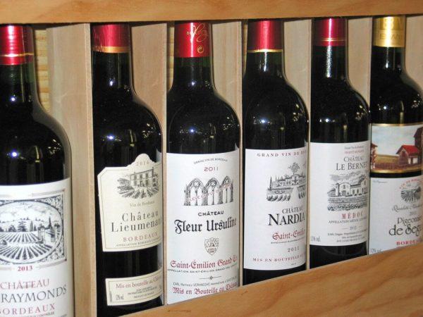ヨーロッパ産のワイン