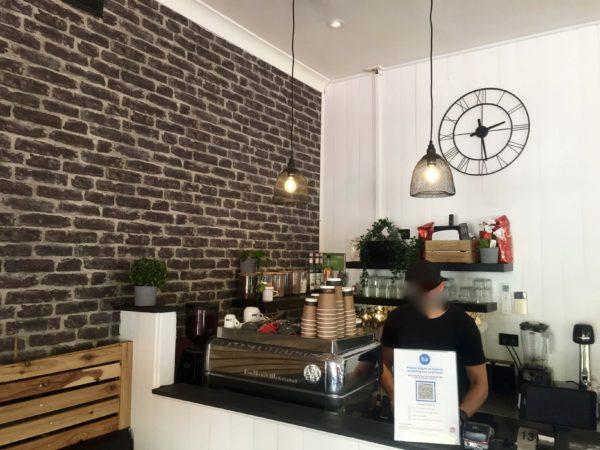 カフェショップの店内の様子