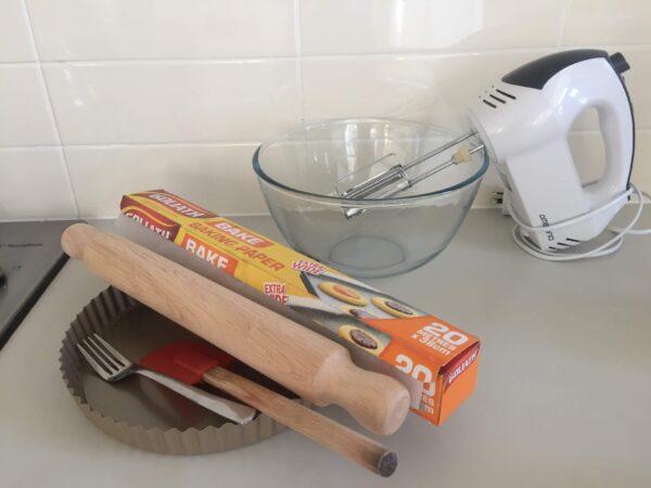 パイ作りに必要な道具
