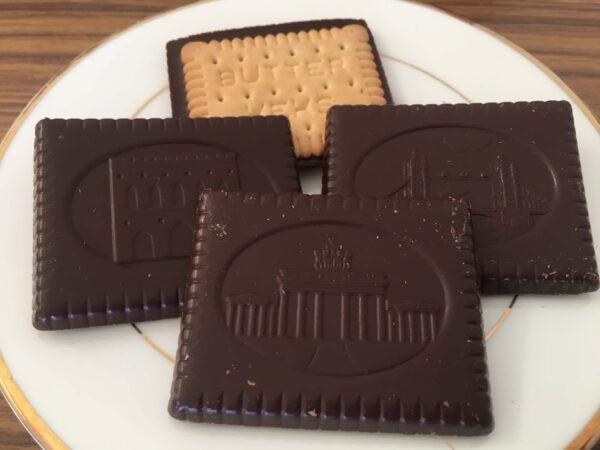 ALDIのお菓子Belmontのチョコクッキー