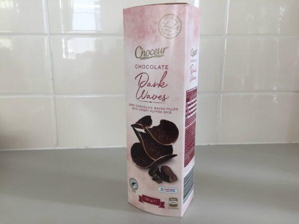 ALDIのベルギー製ダークチョコレートのお菓子