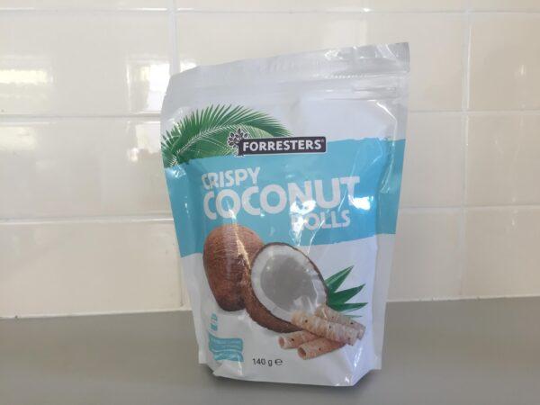 ALDIで売っているのココナッツミルクを使ったお菓子