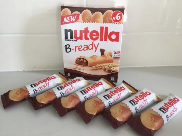 nutella-B-readyを開封したところ